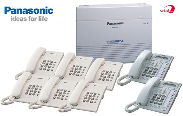 Lắp đặt tổng đài điện thoại ở Bắc Cạn - Tổng đài Panasonic KX-TES824 vctel