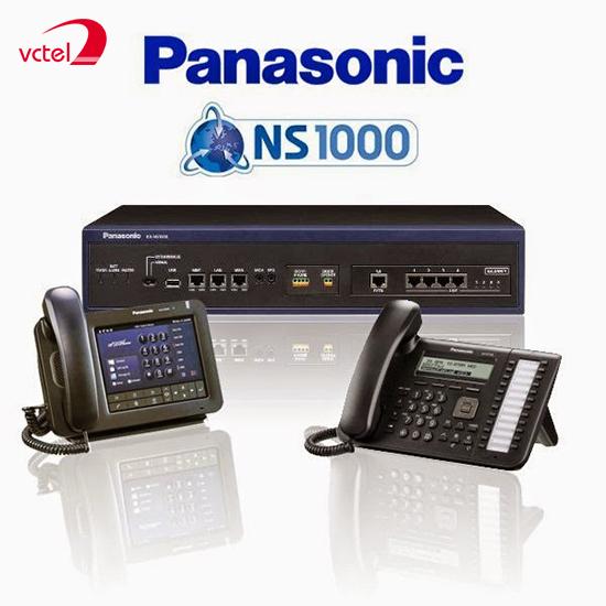 Lắp đặt tổng đài điện thoại ở Bắc Giang - Tổng đài Panasonic KX-NS1000 vctel