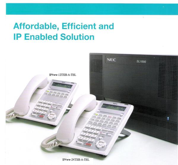 Lắp đặt tổng đài điện thoại ở Nam Định - Tổng đài NEC SL1000 vctel