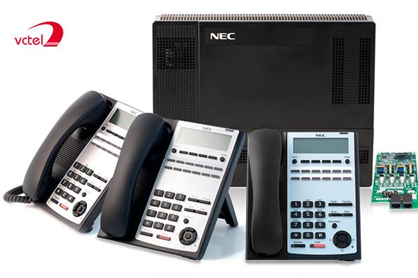 Lắp đặt tổng đài điện thoại ở Quảng Bình - Tổng đài NEC SL1000 vctel