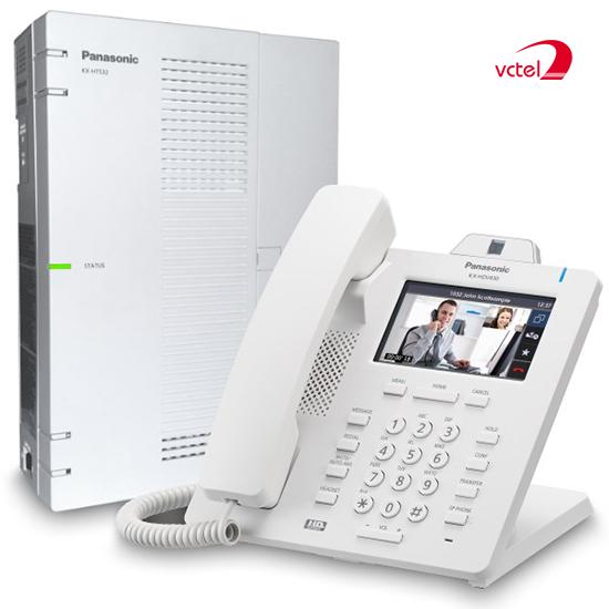 Lắp đặt tổng đài điện thoại ở Quảng Bình - Tổng đài Panasonic KX-HTS824 vctel