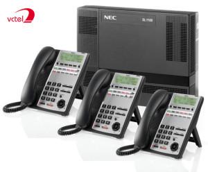 Tổng đài điện thoại cố định NEC SL1000 08 trung kế 40 máy nhánh vctel