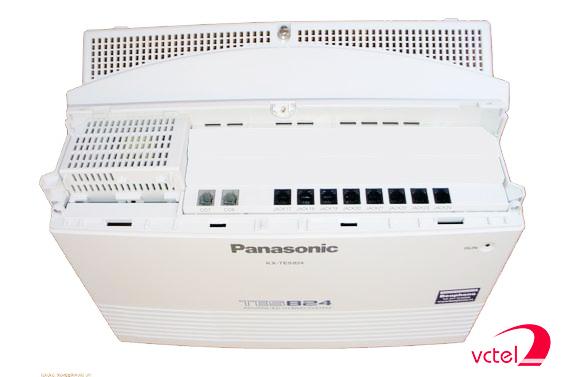 Lắp đặt tổng đài Panasonic KX-TES824 vctel