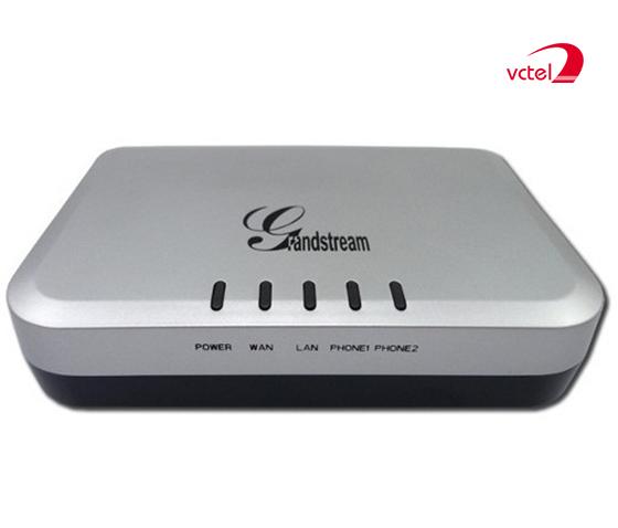 Bộ chuyển đổi VOIP chính hãng Grandstream HT502 vctel