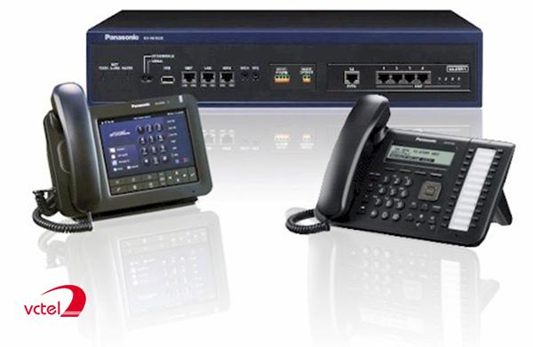 Lắp đặt tổng đài điện thoại ở Đà Nẵng - Tổng đài KX-NS300 vctel