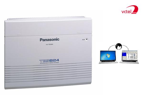 Lắp đặt tổng đài điện thoại ở HCM - Tổng đài Panasonic KX-TES824 vctel