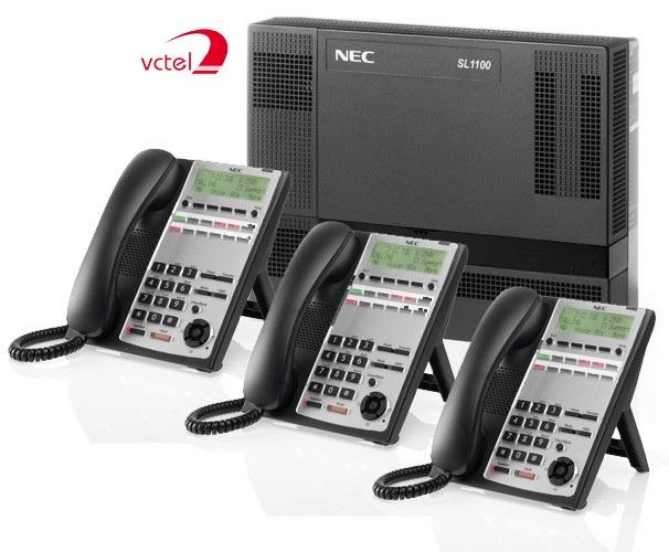 Lắp đặt tổng đài điện thoại ở Hội An - Tổng đài NEC SL1000 vctel