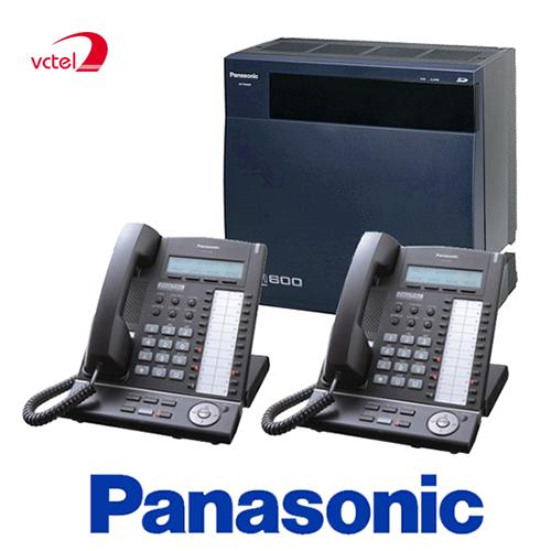 Lắp đặt tổng đài điện thoại ở Huế - Tổng đài Panasonic KX-TDA600 vctel