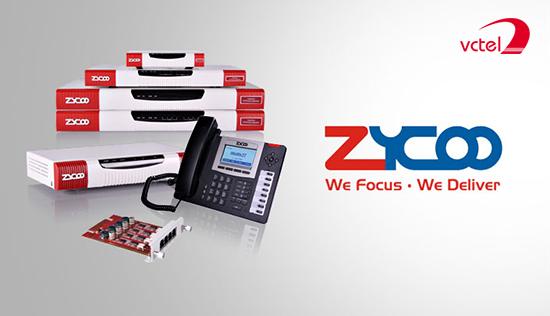 Lắp đặt tổng đài điện thoại ở Huế - Tổng đài Zycoo U50 vctel