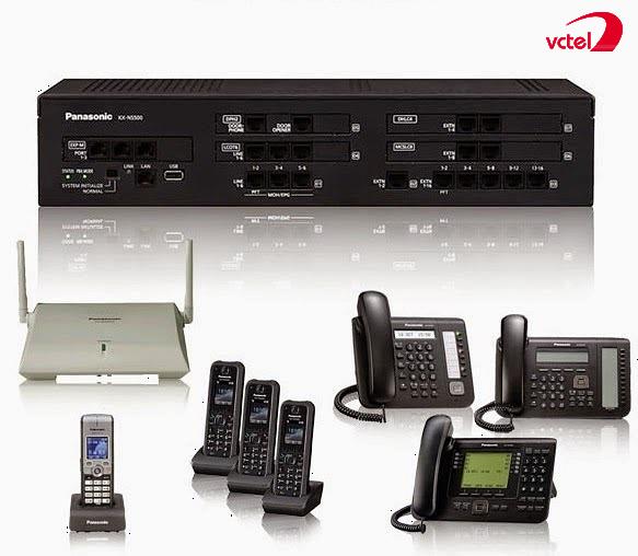Lắp đặt tổng đài điện thoại ở Quảng Nam - Tổng đài Panasonic KX-NS300 vctel