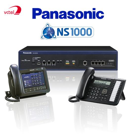 Lắp đặt tổng đài điện thoại ở Quảng Ngãi - Tổng đài Panasonic KX-NS1000 vctel