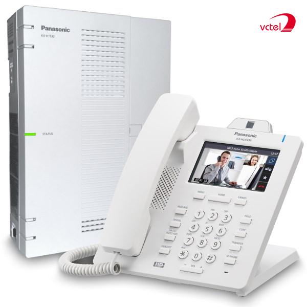 Lắp đặt tổng đài điện thoại ở Sapa - Tổng đài Panasonic KX-HTS824 vctel