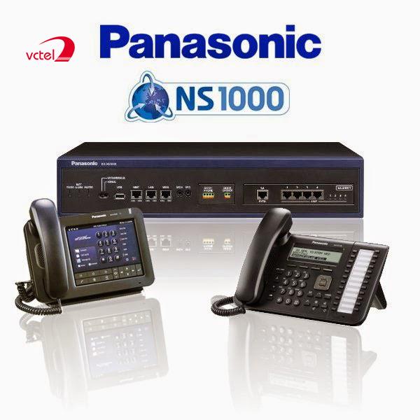 Lắp đặt tổng đài điện thoại ở TPHCM - Tổng đài Panasonic KX-NS1000 vctel