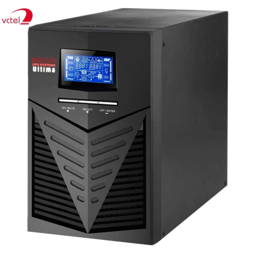 Thiết bị lưu trữ điện UPS chính hãng Maruson ULT-W3KGMS vctel
