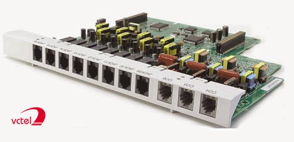 Tổng đài Panasonic KX-TES824-3-16 với cấu hình 03 trung kế 16 máy nhánh vctel