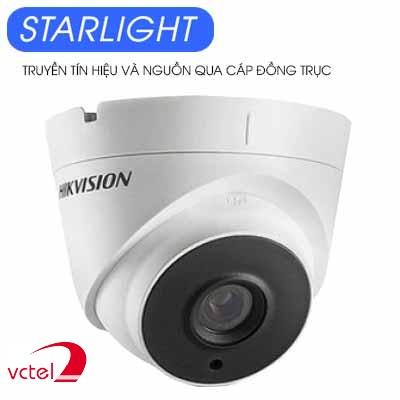 Lắp hệ thống camera quan sát Hikvision DS-2CC52D9T-IT3E công nghệ Starlight vctel