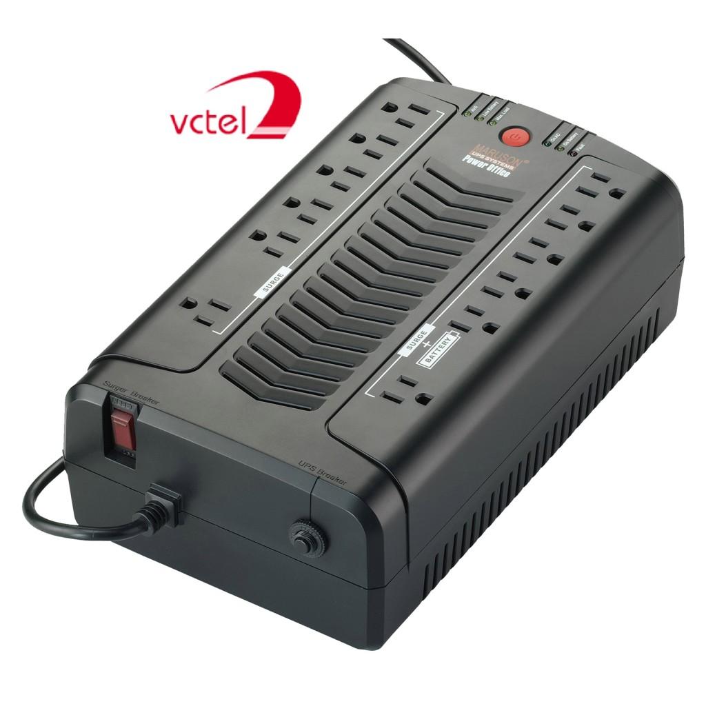 Nguồn lưu điện giá rẻ UPS Maruson POF-800AU bảo hành 3 năm vctel