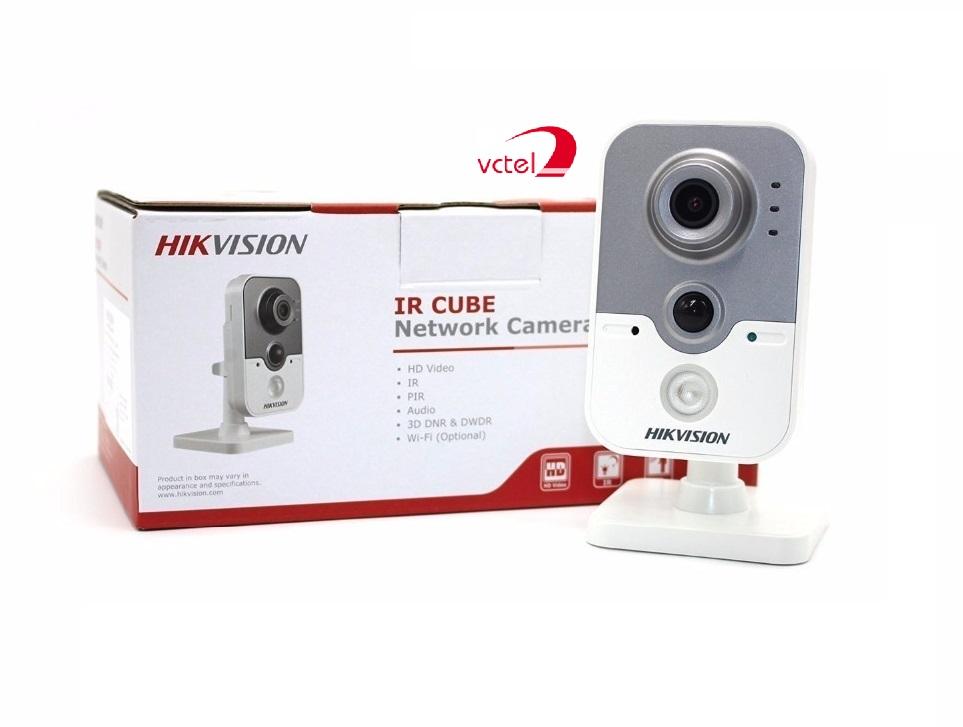 Camera không dây IP Hikvision DS-2CD2420F-IW hỗ trợ kết nối wifi vctel