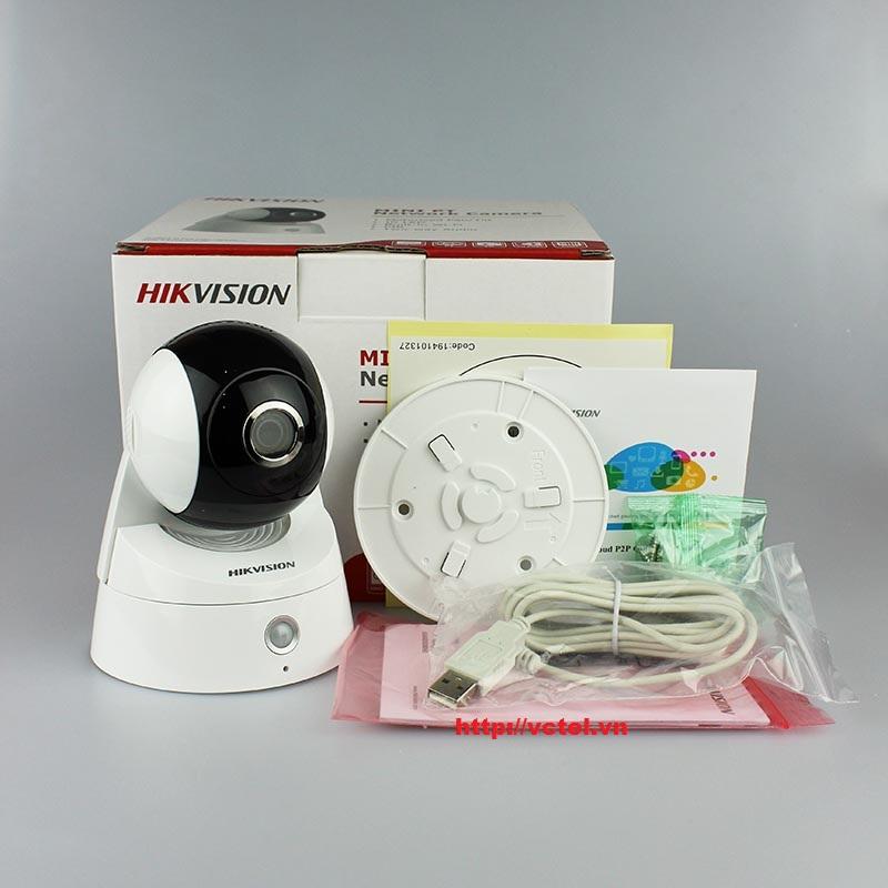 Camera IP không dây Hikvision DS-2CD2Q10FD-IW kết nối wifi vctel