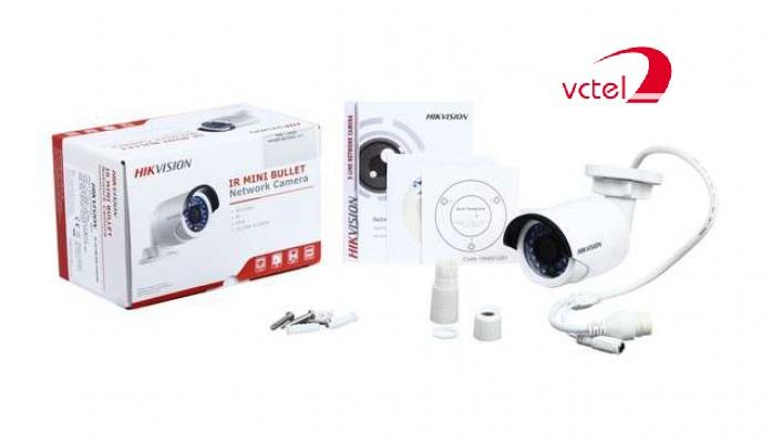 Camera IP giá rẻ Hikvision DS-2CD1002 bảo hành 12 tháng vctel