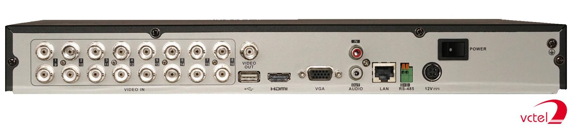 Đầu ghi 16 kênh Hikvision DS-7216HGHI-F1/N bảo hành 12 tháng vctel