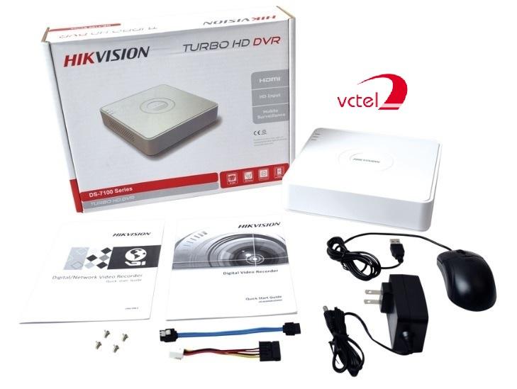 Trọn bộ Đầu ghi Camera Hikvison DS-7116HGHI-F1/N chính hãng vctel