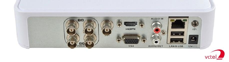 Đầu ghi 4 kênh HD-TVI Hikvision DS-7104HQHI-K1 bảo hành 12 tháng vctel