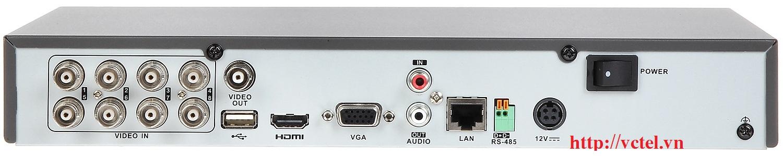 Đầu ghi Hikvision DS-7208HQHI-K2/P kết nối 8 kênh vctel
