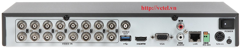 Đầu ghi hình Hikvision DS-7216HQHI-K1 bảo hành 12 tháng vctel
