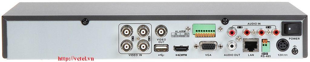 Đầu ghi camera Hikvision DS-7204HUHI-K1 hỗ trợ 4 kênh vctel