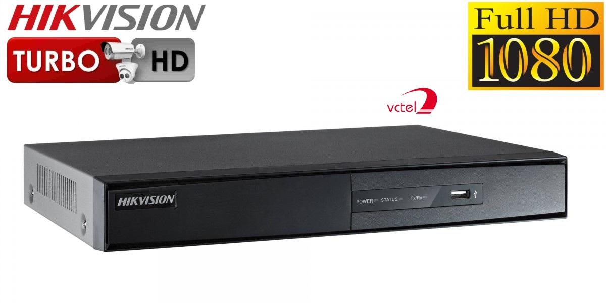 Đầu ghi hình camera Hikvision DS-7208HGHI-F1/N hỗ trợ 8 kênh vctel