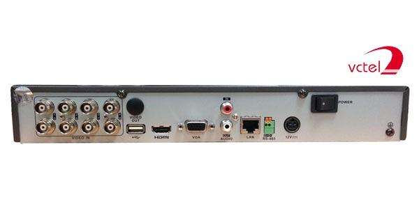 Đầu ghi hình camera Hikvision DS-7208HGHI-F1/N bảo hành 12 tháng vctel