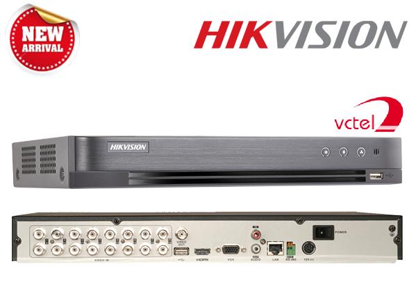 Đầu ghi hình HD-TVI Hikvision DS-7216HQHI-K2/P chất lượng cao vctel