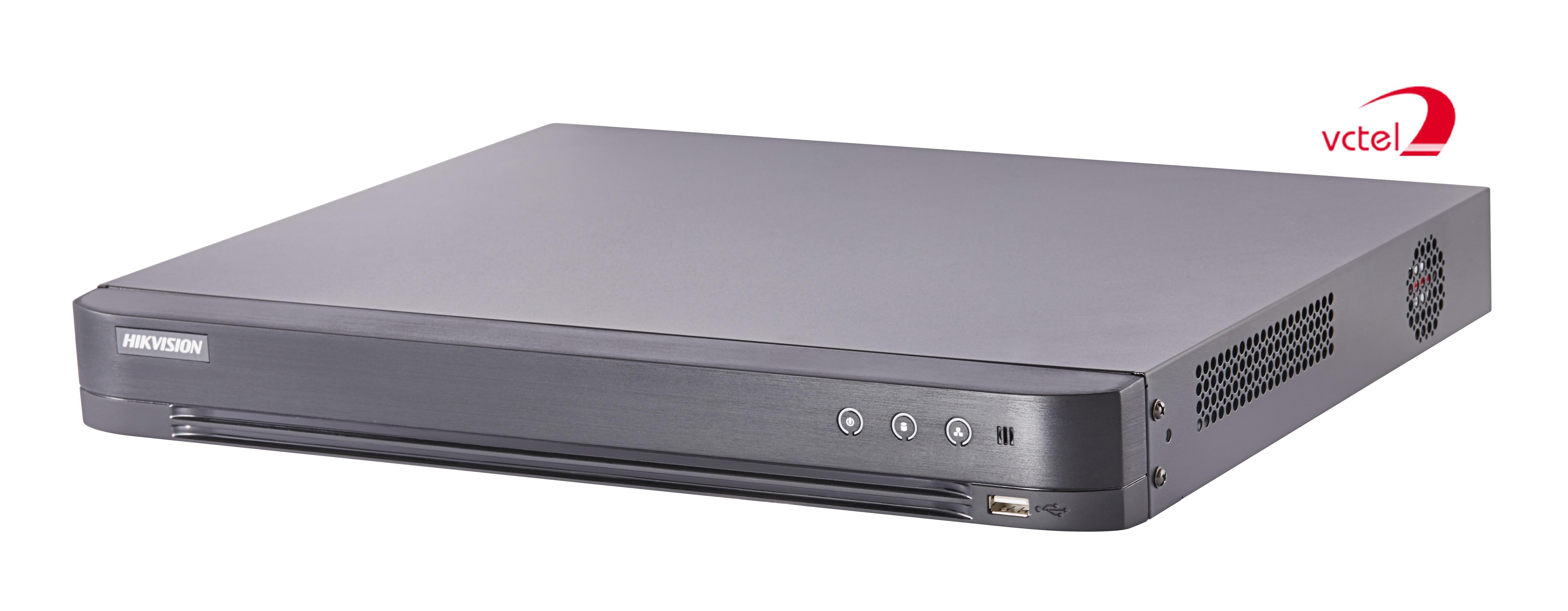 Đầu ghi hình Hikvision DS-7208HUHI-K2 bảo hành chính hãng 1 năm vctel