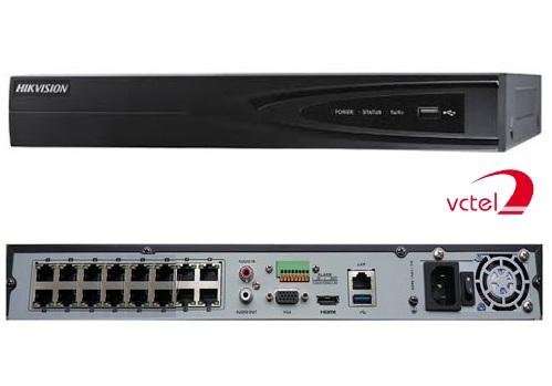 Đầu ghi camera IP Hikvision DS-7616NI-E2 hỗ trợ 16 kênh vctel