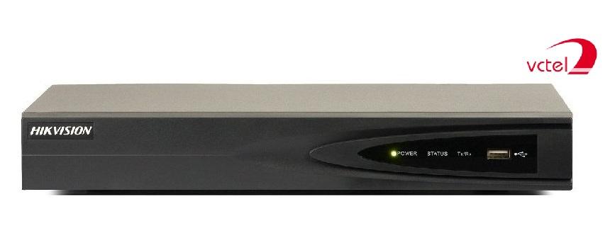 Đầu ghi hình 8 kênh dùng cho Camera IP Hikvision DS-7608NI-E2/8P vctel
